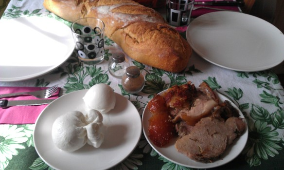 Typical Italian Lunch