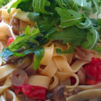 Easy, fresh and light tagliatelle recipe